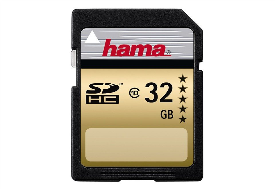 Hama Speicherkarte SDHC 32GB Class 10 HighSpeed Memory Card »SD 2.0 Karte ideal für Full HD«