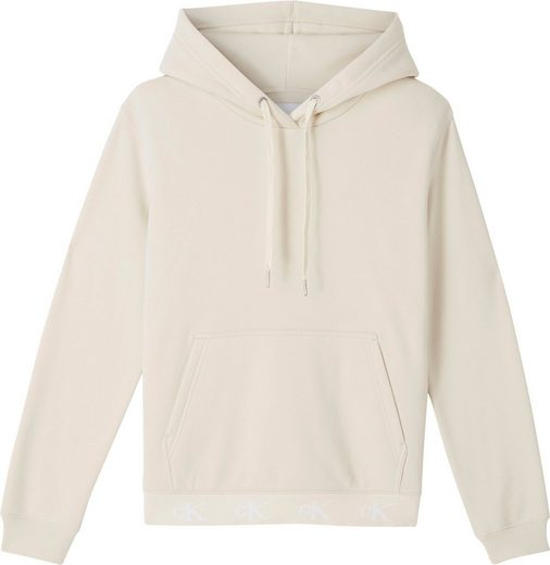 Calvin Klein Jeans Kapuzensweatshirt »CK LOGO TRIM HOODIE« mit CK Logo-Monogrammen am Bündchen