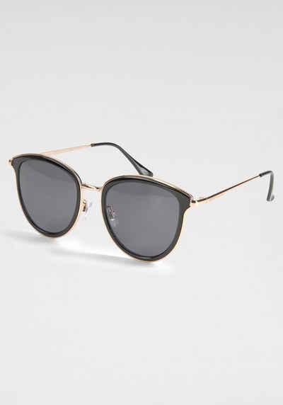 Venice Beach Sonnenbrille mit zweifarbigem Vollrand
