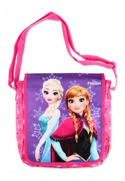 Disney Frozen Kindergartentasche »Eiskönigin Anna & Elsa Kinder Mädchen Umhängetasche Schultertasche«