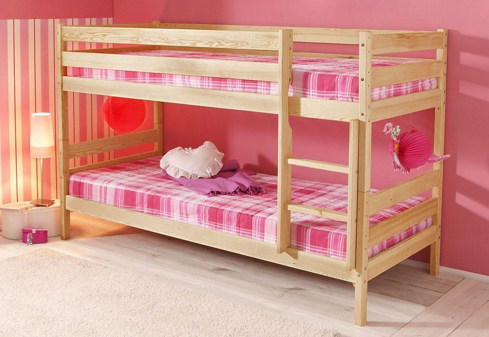 Etagenbett Mit Doppelbett : Doppelbett hochbett jugend kinderbetten günstig online kaufen