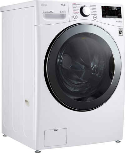 LG Waschmaschine F11WM17TS2, 17 kg, 1100 U/min