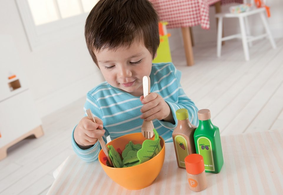 Hape Spiellebensmittel, »Gesunder Garten-Salat« (36tlg.)