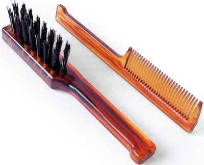 Mondial Antica Barberia Haarbürsten-Set »Bartbürste und -kamm«, 2-tlg.