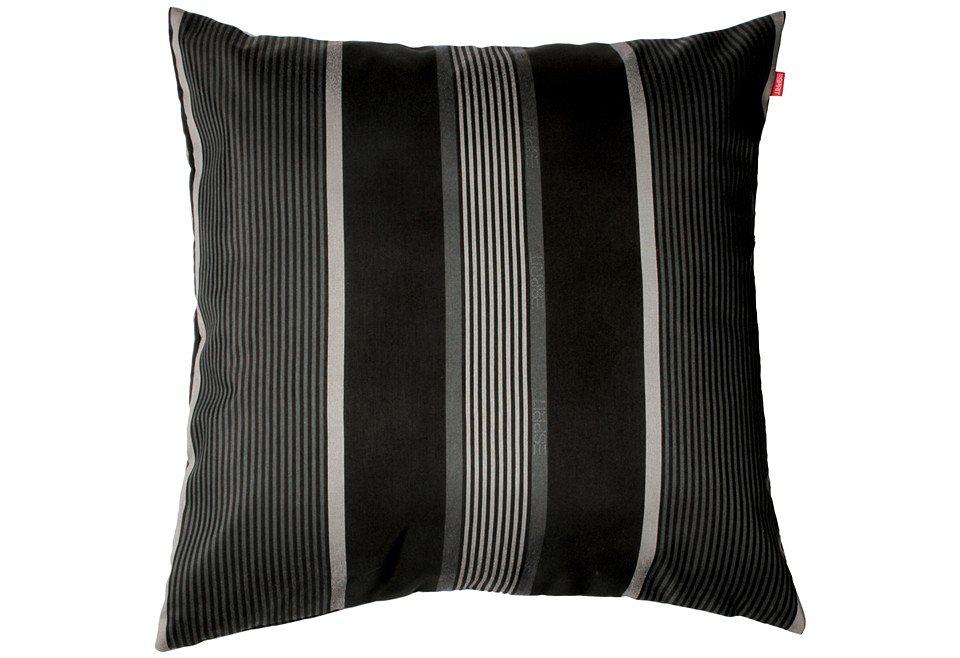 Kissenhülle, Esprit, »Level« (1 Stück) in schwarz