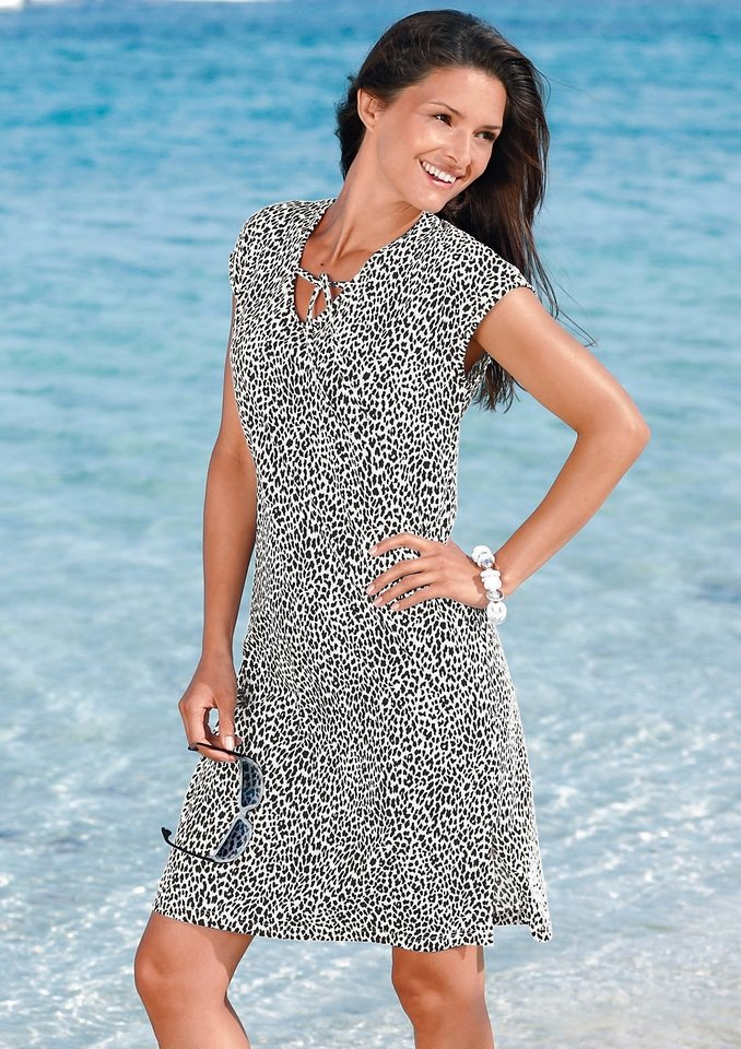 Strandkleid, Graziella in schwarz-weiß