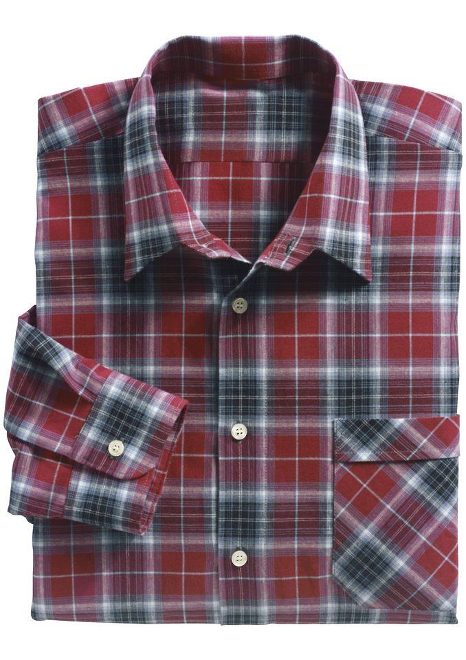 Classic Langarm-Hemd aus reiner Baumwolle