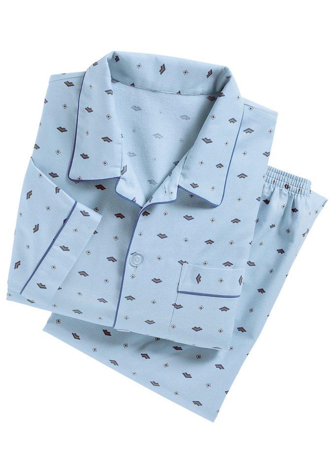 Schlafanzug in hellblau