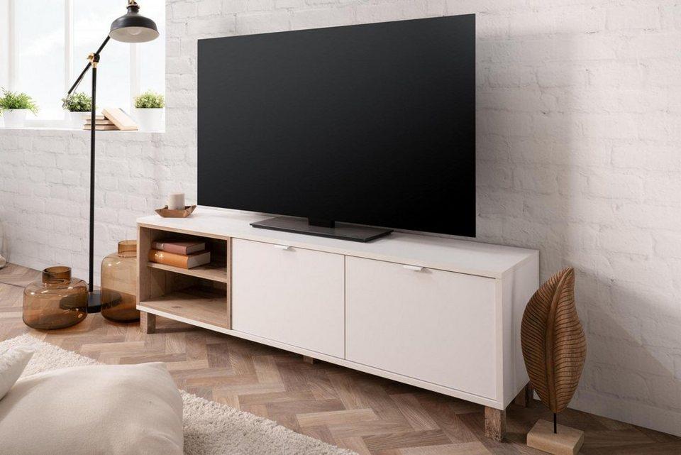 Bmg Mobel Tv Board Menorca 56a Tv Schrank Fernsehtisch Tv Board Modern Design Wohnzimmer Online Kaufen Otto