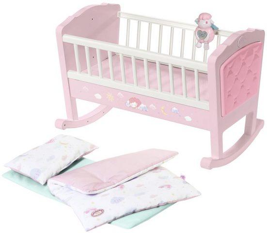 Baby Annabell Puppenwiege »Sweet Dreams«, mit Schlaflied und Schaukel-Automatik