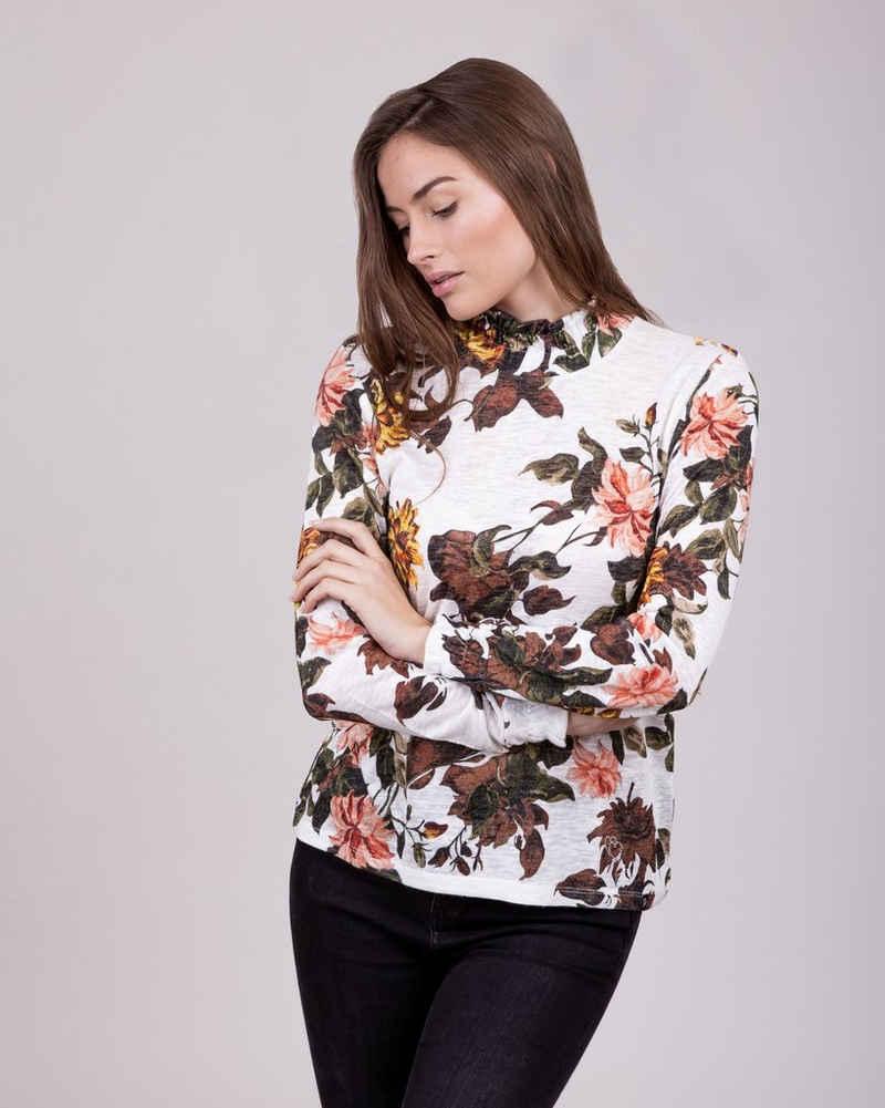 Key Largo T-Shirt »FIELD« mit tollem Muster