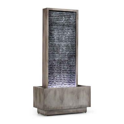 blumfeldt Wasserspiel »Imperia Gartenbrunnen In/Outdoor 10W Pumpe 10m Kabel verzinkt«, 50 cm Breite