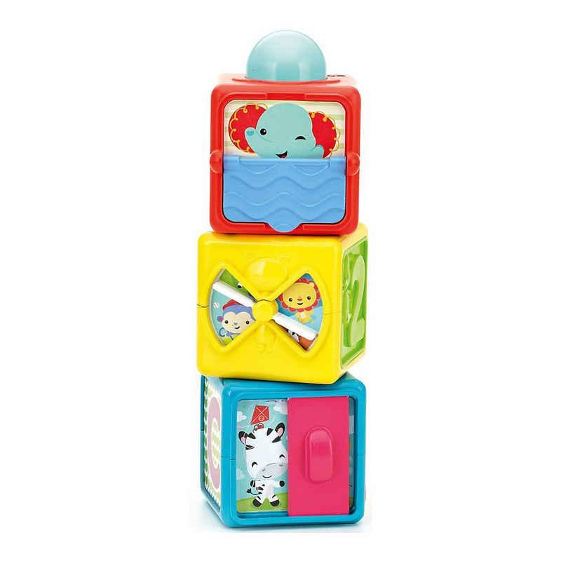 Mattel® Stapelspielzeug »Fisher-Price Spiel- und Stapelwürfel«