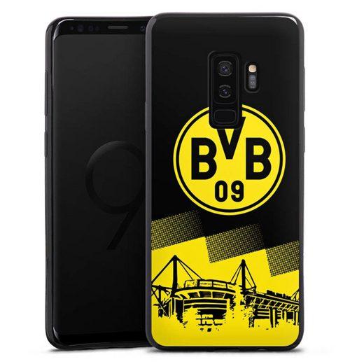 DeinDesign Handyhülle »BVB Two Tone« Samsung Galaxy S9 Plus Duos, Hülle BVB Borussia Dortmund Stadion