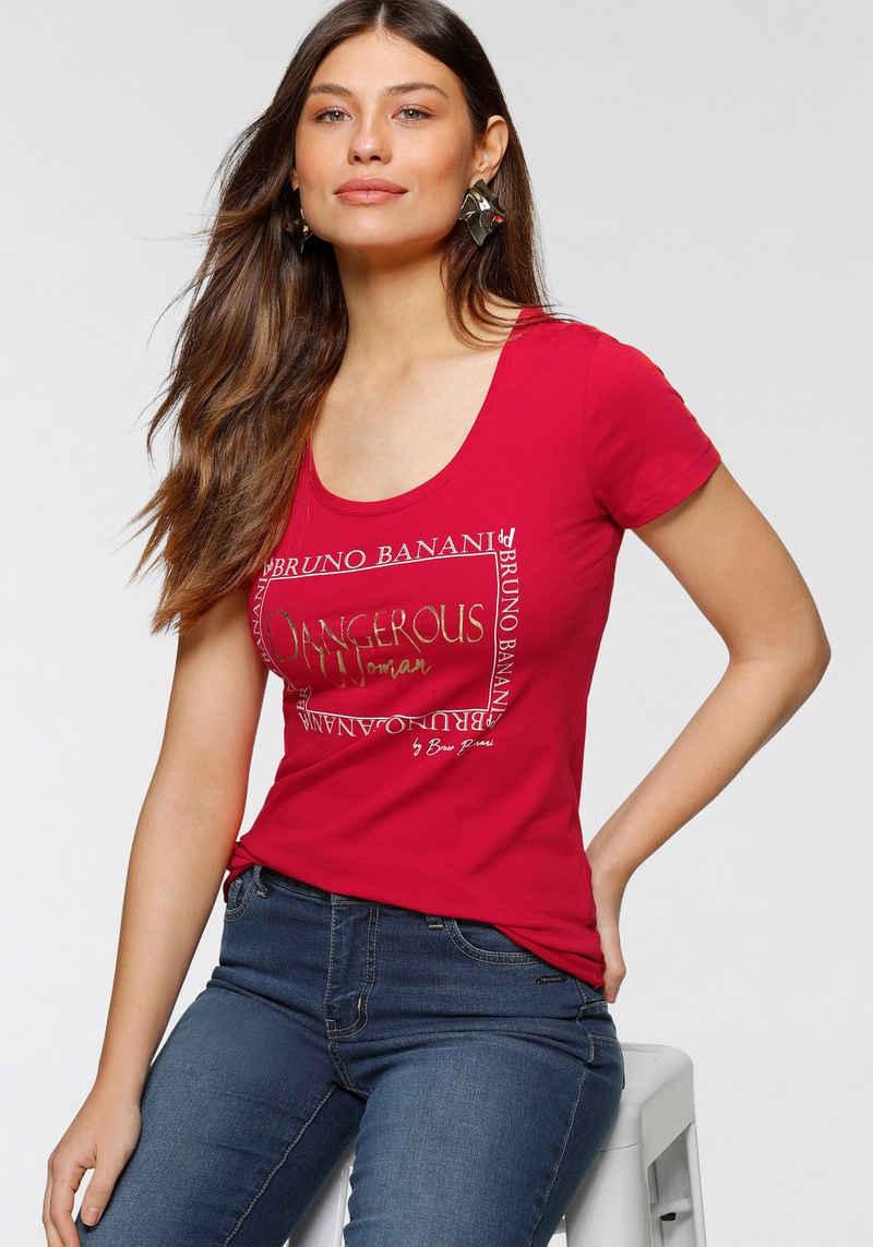 Bruno Banani T-Shirt mit Logo-Print