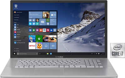 Asus S712JA-AU122T Notebook (43,94 cm/17,3 Zoll, Intel Core i7, UHD Graphics, 512 GB SSD, Kostenloses Upgrade auf Windows 11, sobald verfügbar)