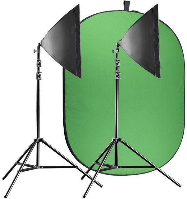 Blitzgeräte - walimex »pro Video Greenscreen Set Einsteiger flexi« Blitzgerät  - Onlineshop OTTO