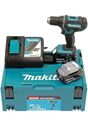 Makita Akku-Bohrschrauber »DDF482RFJ« max. 19...