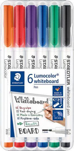 STAEDTLER Dekorierstift »Lumocolor Whiteboard Pen, 6 Farben«