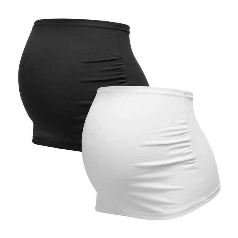 Herzmutter Bauchband »Umstands-Schwangerschafts-Bauchbänder - 2er-Set - Baumwolle - Nieren-Rückenwärmer-Shirtverlängerung«