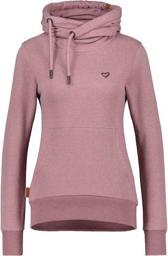 Alife & Kickin Sweatshirt »SarahAK« sportiver Sweater mit Kapuze& Seitentaschen
