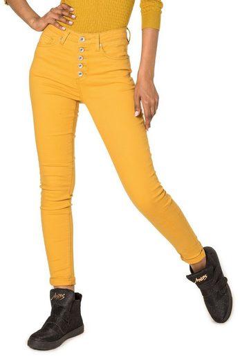 Nina Carter High-waist-Jeans »2721« Damen High Waist Jeans NELE
