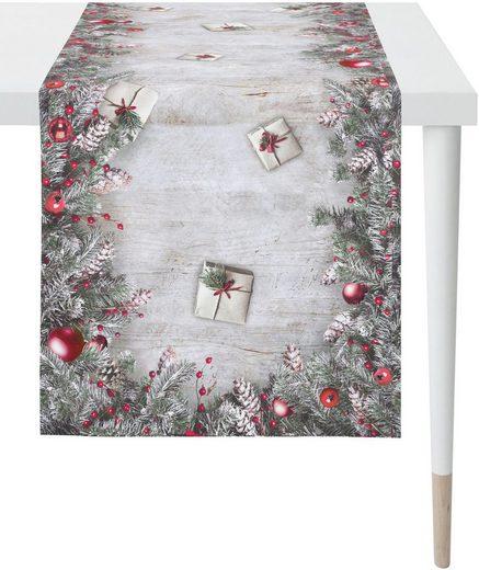 APELT Tischläufer »3611 Winterwelt« (1-tlg), Digitaldruck