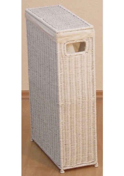 Wäschekorb (1 Stück), für schmale Nischen geeignet, nur 16 cm breit