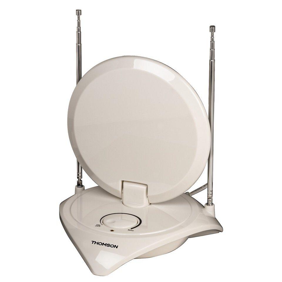 Thomson ANT1721 DVB-T/DVB-T2 Zimmerantenne, 40 dB in Weiß