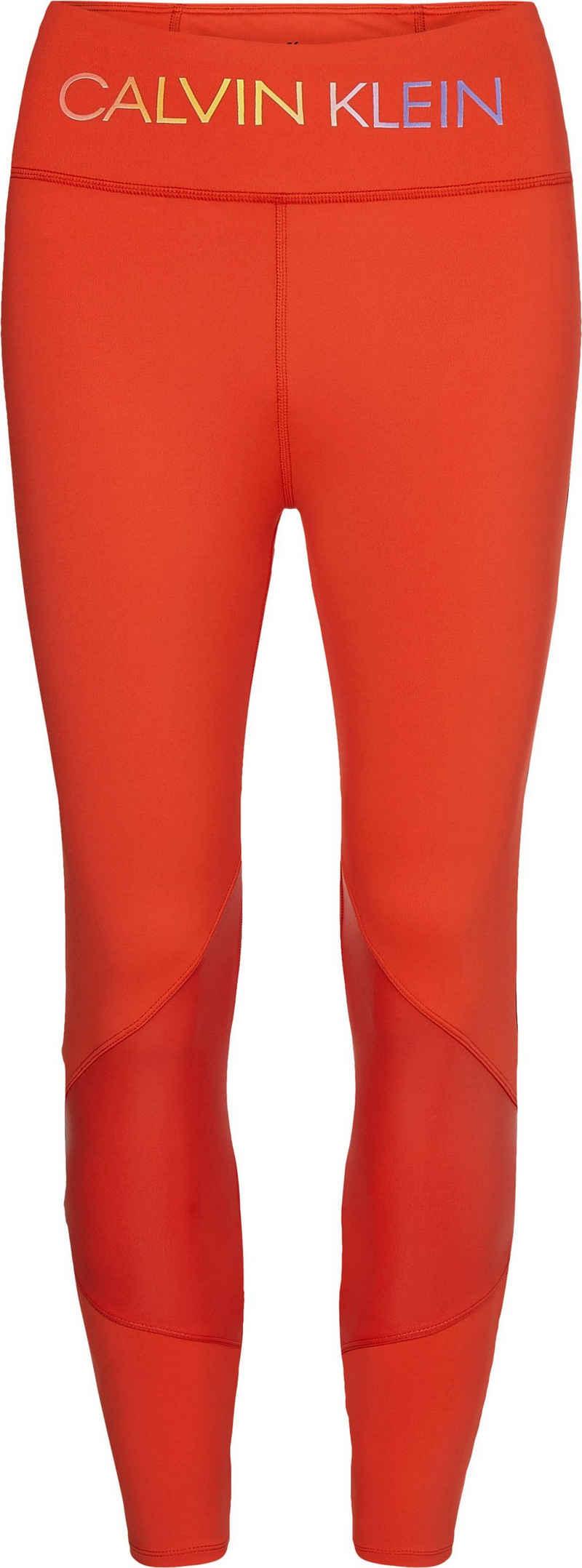 Calvin Klein Performance Funktionsleggings »WO - 7/8 Tight« mit gekreuzten Bändern am hinteren Saum