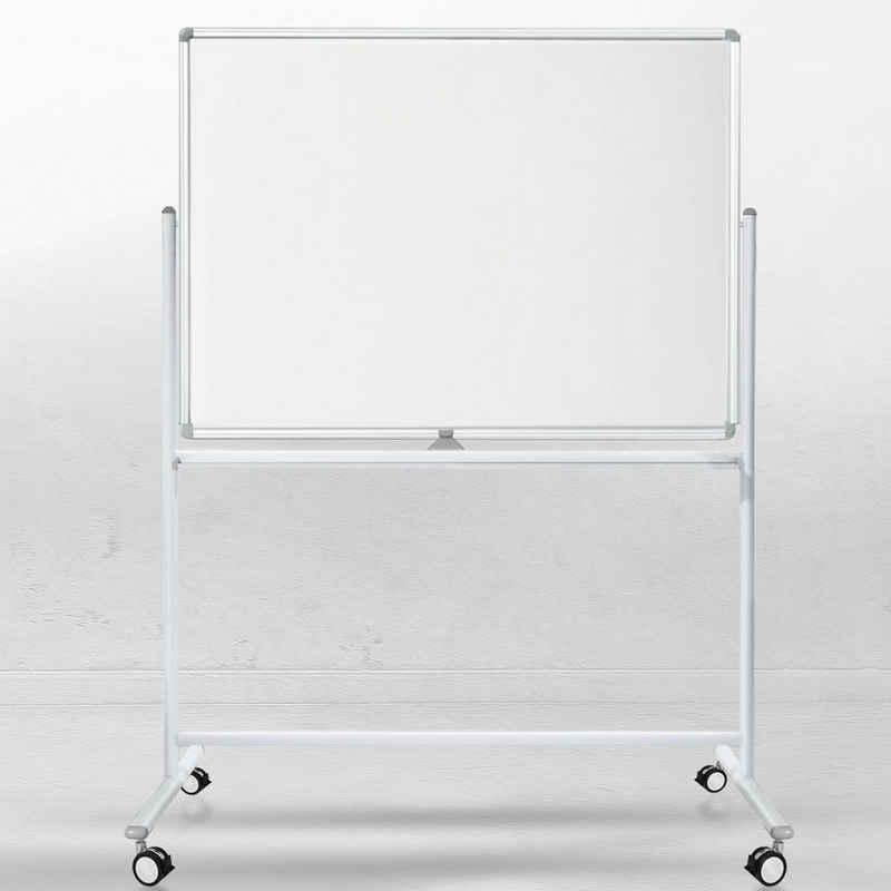 Master of Boards Wandtafel »Whiteboard Stanford«, Mobil & drehbar