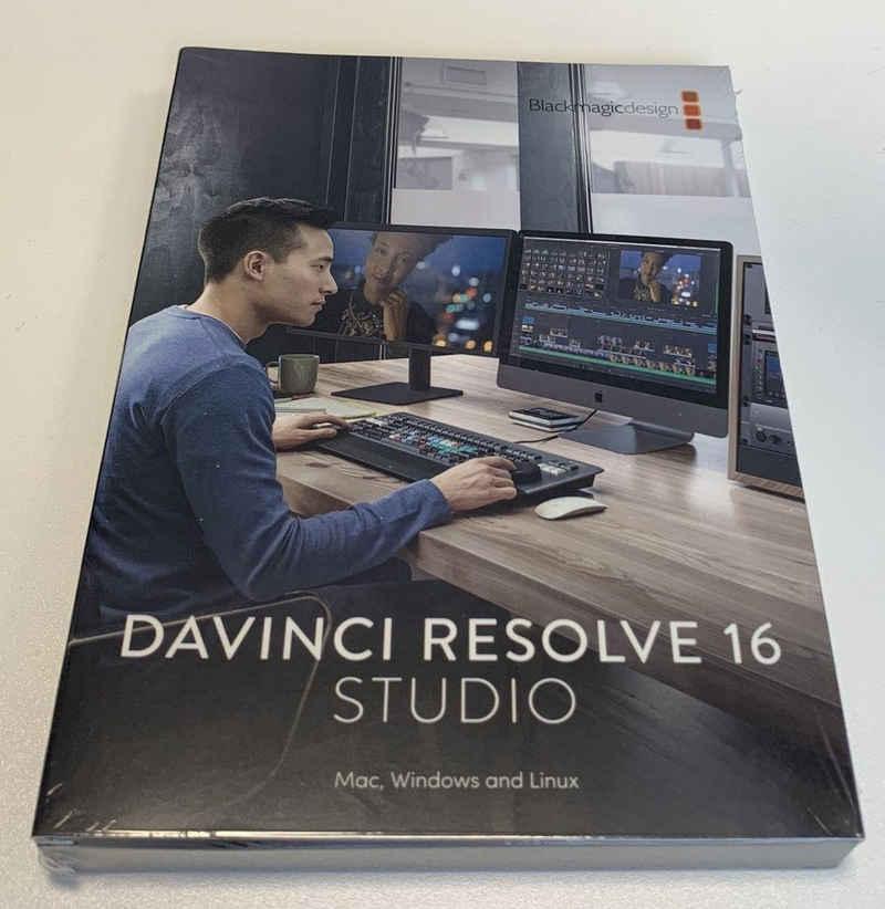 Blackmagic Kamerazubehör-Set »DaVinci Resolve Studio (Dongle-Version)«