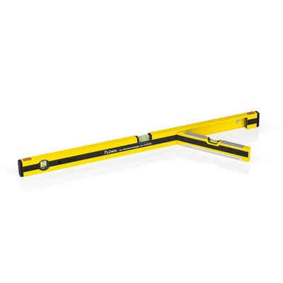 FLÜWA Wasserwaage, 80 cm schwarz/gelb