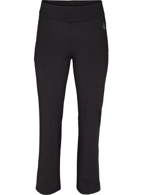 Hosen - Active by ZIZZI Sporthose Große Größen Damen Einfarbige weite Hose mit Stretch ›  - Onlineshop OTTO