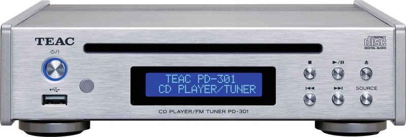 TEAC »PD-301DAB-X« CD-Player (UKW-Radio, USB-Medienplayer und DAB/UKW-Tuner)