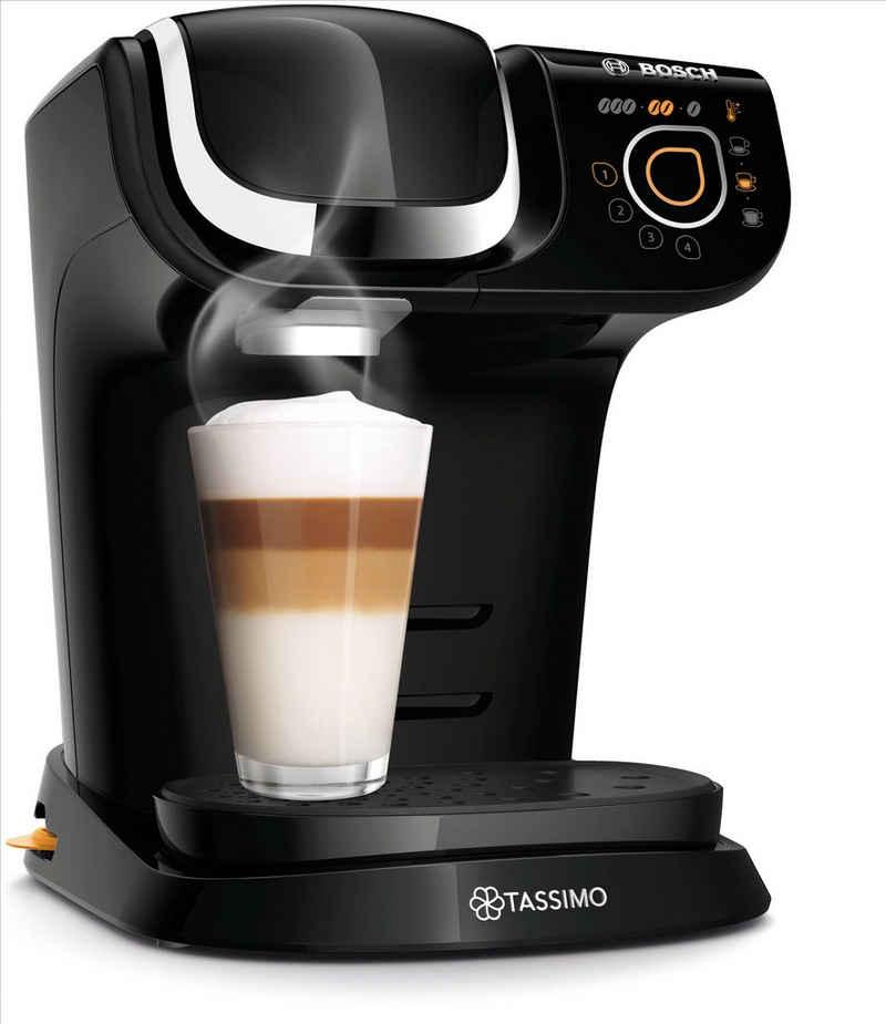 TASSIMO Kapselmaschine My Way 2 TAS6502, Kaffeemaschine by Bosch, schwarz, mit Wasserfilter, über 70 Getränke, Personalisierung