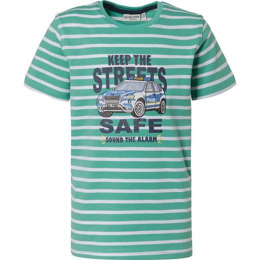 Salt & Pepper T-Shirt »T-Shirt für Jungen, Polizei«