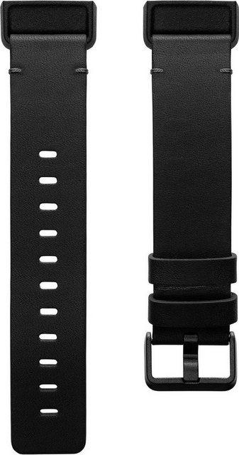 fitbit Ersatz-/Wechselarmband »Leather Band – Large«