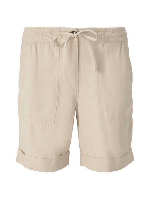 Hosen - TOM TAILOR Shorts »Loose Fit Bermuda Shorts mit elastischem Bund« › gelb  - Onlineshop OTTO