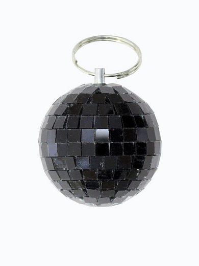 SATISFIRE Discolicht »Spiegelkugel 5cm - schwarz - Diskokugel Echtglas - 5x5mm Spiegel - DEKO Serie«
