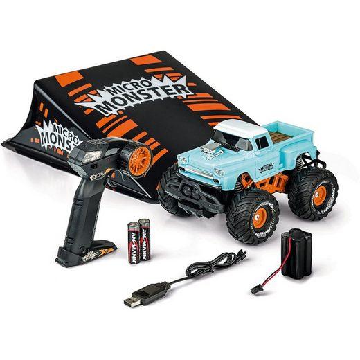 CARSON Spielzeug-Auto »1:22 Micro Monster m.Rampe 2.4G 100% RTR«