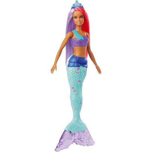 Mattel® Barbie Dreamtopia Meerjungfrau Puppe (pinkes und lilafarbene
