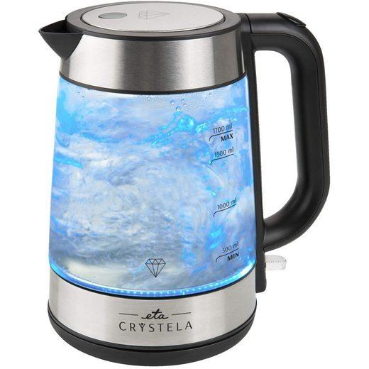 Omega Wasserkocher ETA6153 1,7 Liter Glasoptik