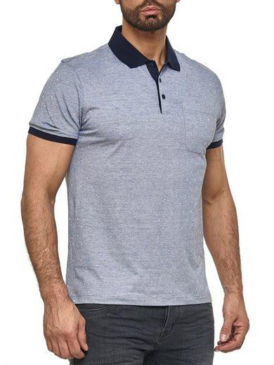 Max Men Poloshirt »3174« Herren Poloshirt mit Kragen Basic Rombus