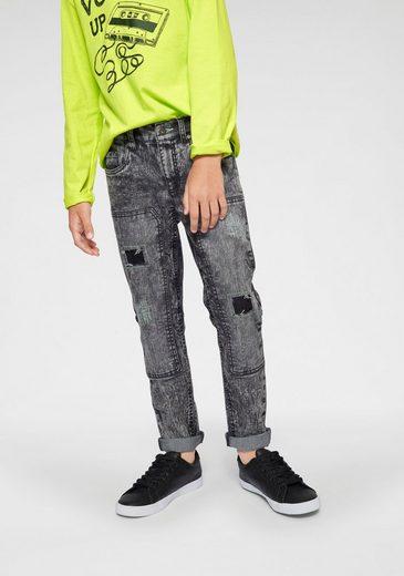 Arizona Stretch-Jeans regular fit mit schmalem Bein
