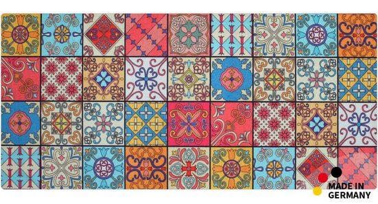 Läufer »Teppichläufer Marokko Retro Mosaik 80cm«, matches21 HOME & HOBBY, rechteckig, Höhe 4 mm