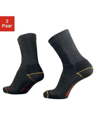 just socks Arbeitssocken (2-Paar) für starke Beanspruchung