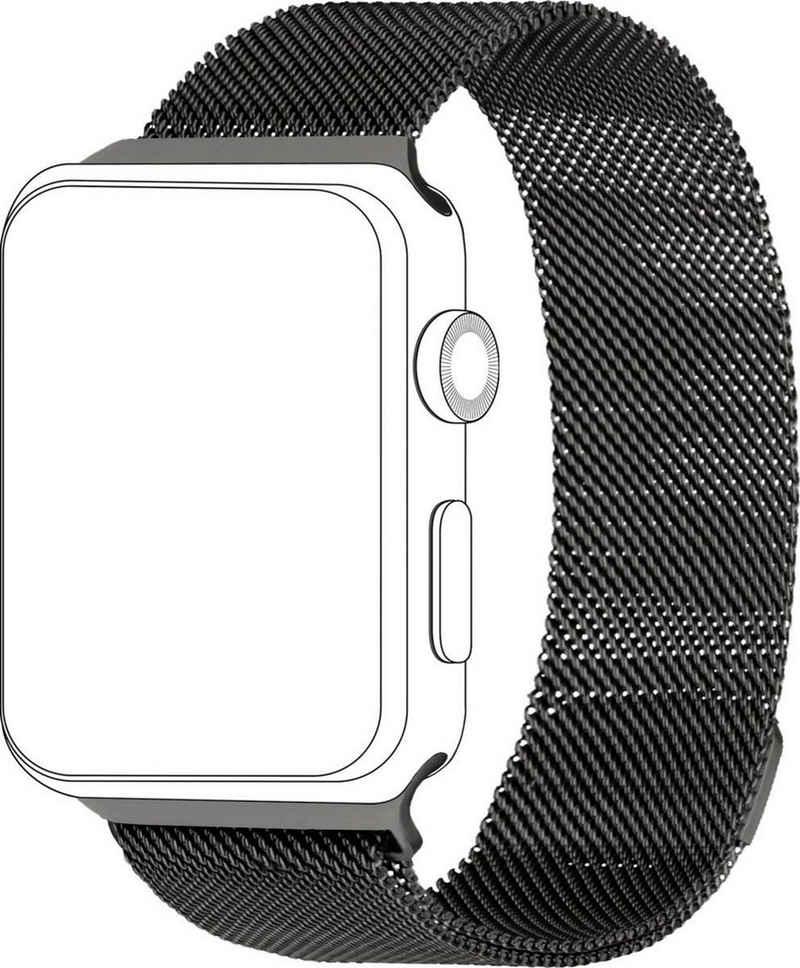topp Accessoires Smartwatch-Armband »Mesh für Apple Watch (38/40 mm)«