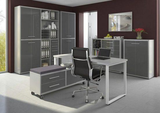Maja Möbel Büromöbel-Set »Maja Set+ Set 7«, (abschließbare Büroschränke)
