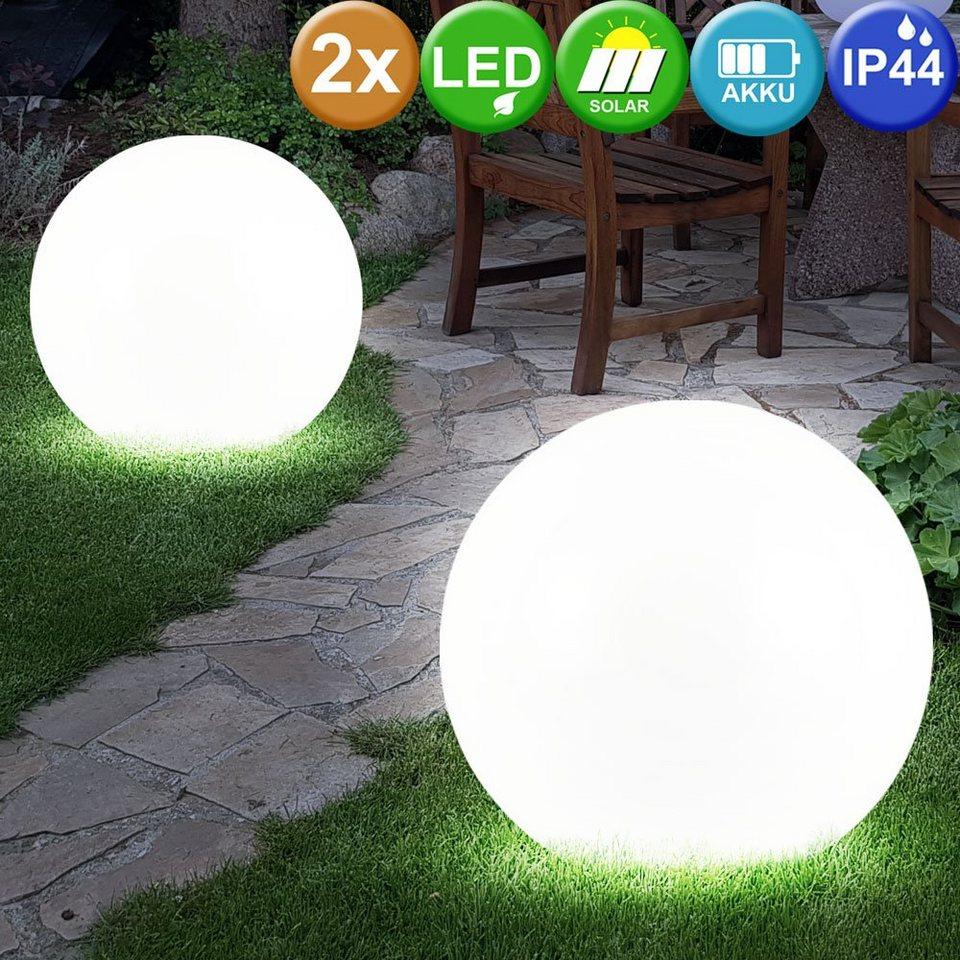 etc shop LED Gartenstrahler, 20er Set Solar LED Außenleuchte Terrasse  Gartenleuchte Kugel Lampe Licht online kaufen   OTTO